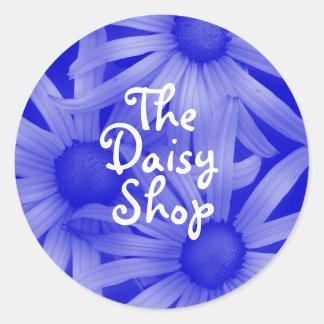 Delicate Daisy Round Sticker