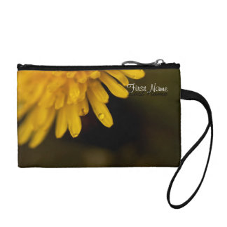 Delicate Dandelion; Customizable Coin Wallet