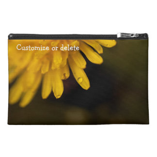 Delicate Dandelion; Customizable Travel Accessories Bag