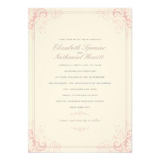 Delicate Dream 2 Wedding Invitation Soft Pink