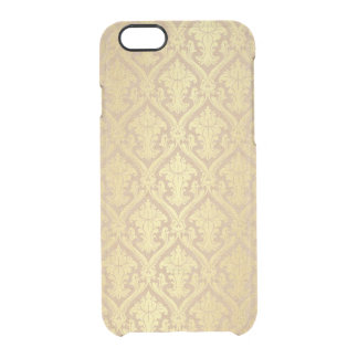 Delicate Eco Cart Golden Damask iPhone Clearly™ Clear iPhone 6/6S Case