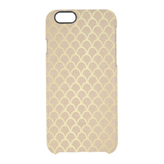Delicate Eco Cart Golden Waves iPhone Clearly™ Clear iPhone 6/6S Case