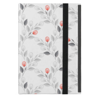 Delicate floral pattern cover for iPad mini