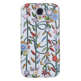 Delicate flowers and vines galaxy s4 case