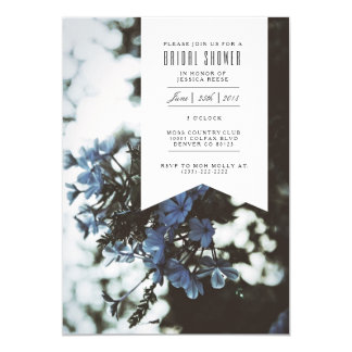 Delicate Flowers | Bridal Shower Invitation