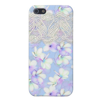 Delicate Flowery and Lace iPhone 5 Covers