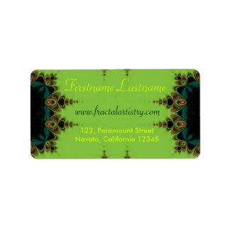 Delicate Forest Artistry Address Label