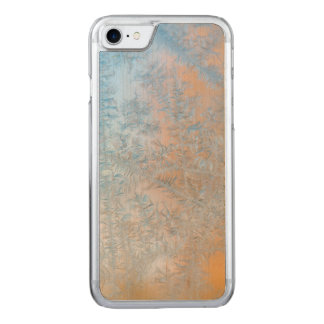 Delicate frost pattern, Wisconsin Carved iPhone 7 Case