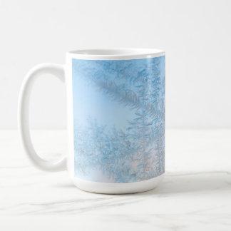 Delicate frost pattern, Wisconsin Coffee Mug
