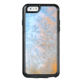 Delicate frost pattern, Wisconsin OtterBox iPhone 6/6s Case
