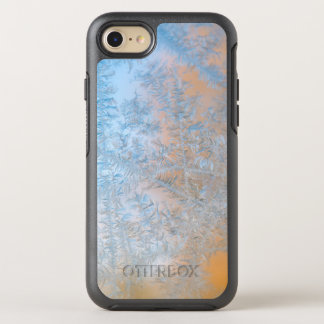 Delicate frost pattern, Wisconsin OtterBox Symmetry iPhone 7 Case