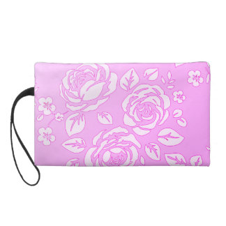 Delicate-Fushia_Retro_(c)IFabric_Sueded_Bag Wristlet Purses