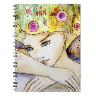delicate  girl notebooks