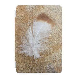 Delicate Goose Feathers iPad Mini Cover