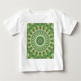 Delicate Green Garden Growth Kaleidoscope Baby T-Shirt