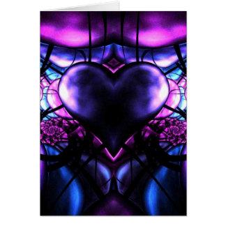 Delicate Heart of Scorpio Card