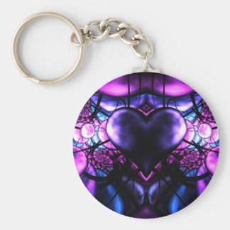 Delicate Heart of Scorpio Key Ring