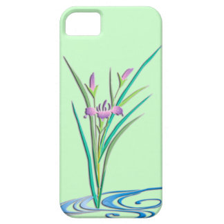 Delicate Iris iPhone 5 Cover