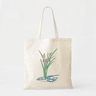 Delicate Iris Tote Bag
