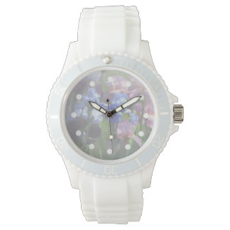 Delicate Irises Women's Watch