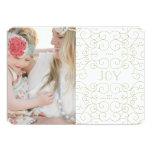 Delicate Joy | Holiday Photo Card 13 Cm X 18 Cm Invitation Card