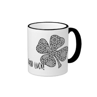 Delicate Lace Fabric Pattern Collection Lace - 04 Mug