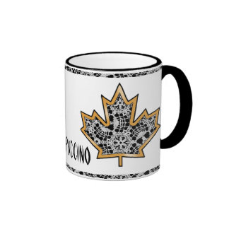 Delicate Lace Fabric Pattern Collection Lace - 05 Mugs