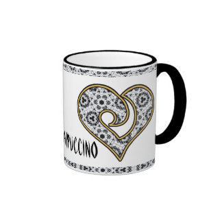 Delicate Lace Fabric Pattern Collection Lace - 06 Mug