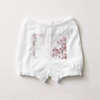 Delicate Pink Baby Girl  Clothing Nappy Cover