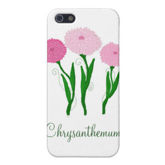 Delicate Pink Chrysanthemums iPhone 5/5S Covers