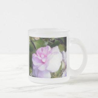 Delicate Pink Flower Coffee Mugs