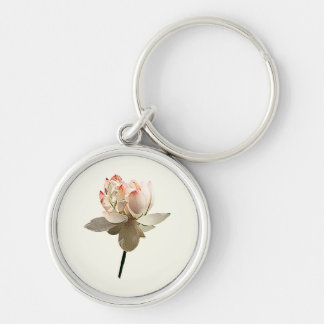 Delicate Pink Lotus Key Ring