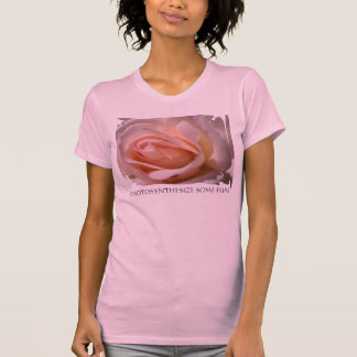 Delicate Pink Rose Bud Tee