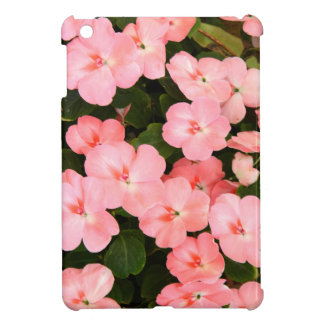 Delicate pink spring flowers iPad mini cover