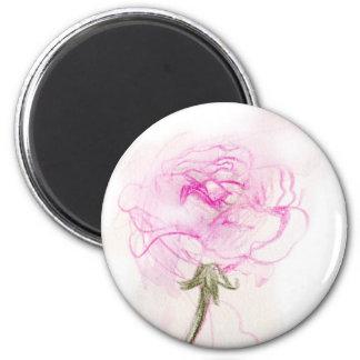 Delicate Rose Magnet