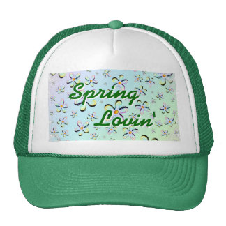 Delicate Spring Flowers Hat