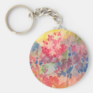 Delicate Spring flowers Keychains
