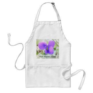 Delicate Spring Violet Standard Apron