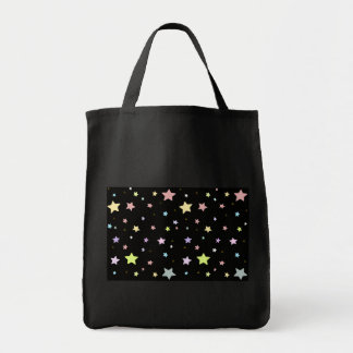 Delicate Star pattern tote bag