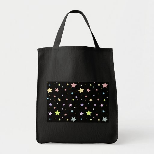 Delicate Star pattern tote bag