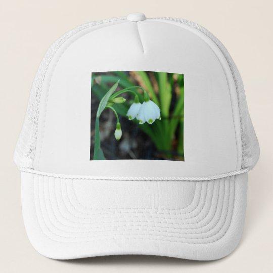 Delicate White Alleghany Spurge Flowers Trucker Hat