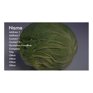 Delicious Cabbage Pack Of Standard Business Cards