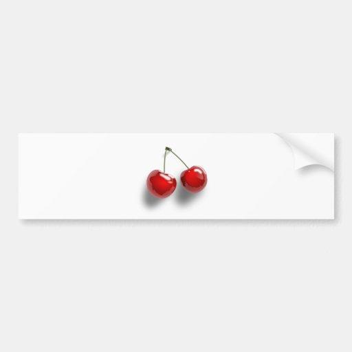 Delicious Cherries Bumper Stickers