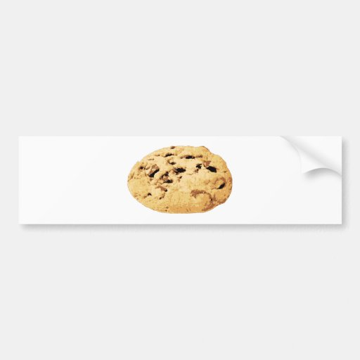 Delicious Chocolate Chip Cookie Bumper Stickers