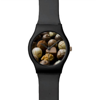 Delicious chocolate pralines watch