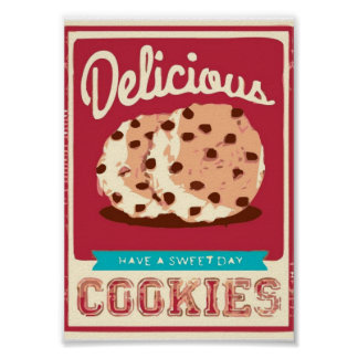 Delicious Cookies Poster