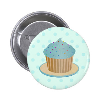 Delicious Cupcake 6 Cm Round Badge