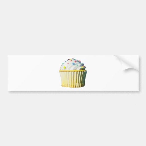 Delicious Cupcake Bumper Sticker