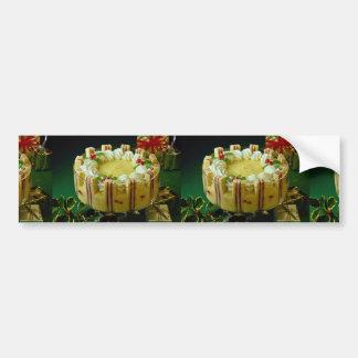 Delicious Custard, cake dessert Bumper Stickers