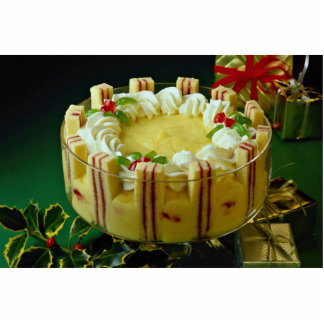 Delicious Custard, cake dessert Cut Outs